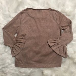 J. Crew Sweaters - J. Crew Champagne Sparkle Sweater Top Size Small